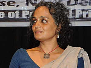 The Supreme Court today refused to stay a criminal contempt notice issued by the Bombay High Court against author Arundhati Roy for her article in a weekly magazine questioning the continued incarceration of Delhi University professor GN Saibaba.