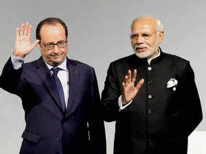 Talks on terror, climate change and smart cities will be the highlights of the upcoming visit of President Francois Hollande, French Ambassador Francois Richier said .