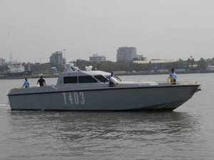 The fire had caused an extensive damage to the Fibre-glass Reinforced Plastic (FRP) hull of the craft resulting in its sinking, Navy had said yesterday.