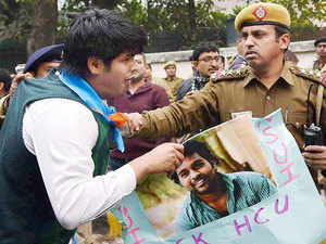 In a bid to defuse the raging controversy, the Centre today decided to set up a judicial commission to go into the dalit student's suicide in Hyderabad University, which announced an ex-gratia payment of Rs.8 lakh to his family but protests continued.