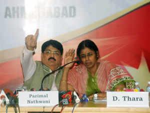 RIL would build a hospital in Jamnagar district, Group President - RIL and Rajya Sabha MP from Jharkhand, Parimal Nathwani (left) said.