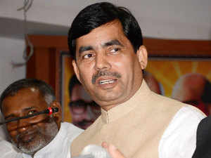 Shahnawaz Hussain said the government took its stand on Aligarh Muslim University keeping in mind the Constitution and not any minority or majority.