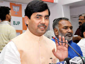 BJP leader Shahnawaz Hussain has received a threat letter purportedly sent by the ISIS, police said today.