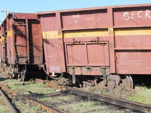 Six bogies of a coal-laden goods train today derailed in Chhattisgarh's Korba district, leading to disruption of rail traffic on Korba-Champa route. (Representative image)