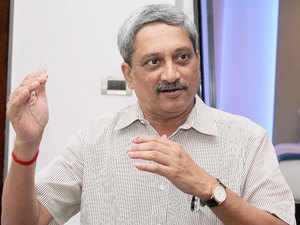 """I feel elated to unfurl the country's tallest, biggest and most beautiful Tricolour on the occasion of 119th birth anniversary of Netaji Subhas Chandra Bose,"" Parrikar said."