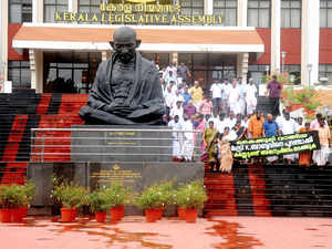 Elected as Speaker of Kerala Legislative Assembly in 1982, he used casting vote to retain the Congress government headed by K Karunakaran.