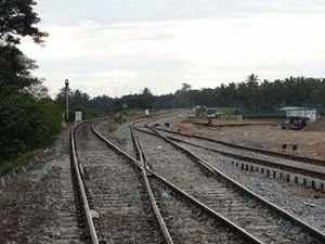 The railway line project is expected to be completed by September 2017. (Representative Photo)
