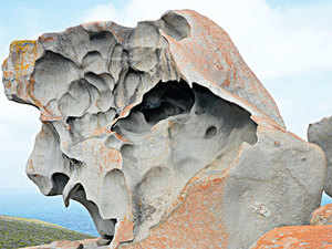 A LONG TIME AGO: Remarkable Rocks were formed centuries ago when molten rock bubbled up to the earth's surface. When the rock began to cool, it solidified into granite. Wind erosion and sea spray chiselled the rocks into eerie shapes