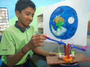 The second edition of the recently-concluded Parikrama Festival of Science saw participation of 200 students of Class 8 from 40 different schools across Bengaluru.