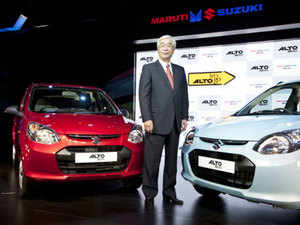 Maruti's Alto retained the top position last month, with 22,589 units, as against 22,296 units in December, 2014.