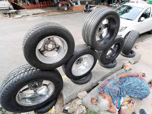 In order to cut imports from China, the domestic industry also wants strict adherence to Bureau of Indian Standards mark on tyre products.