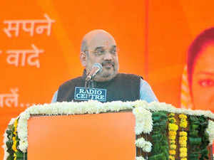 BJP President Amit Shah, under whom the membership of the party grew rapidly and it formed governments in several states, was today elected unopposed as its chief for a second term.
