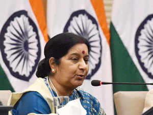 External Affairs Minister Sushma Swaraj said India and the Arab world must join hands to eliminate terrorism menace.