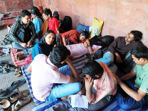 Three students of the varsity have decided to sit on the fast to express solidarity with students who are continuing their hunger strike at HCU. (representative image)