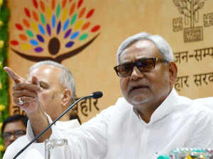 Nitish Kumar  said people approach leaders seeking their help for works and leaders call officers.