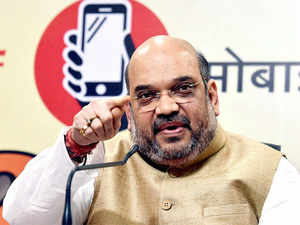 Shah, who has been elected for a three-year term, also will be meeting ailing former Prime Minister Atal Bihari Vajpayee on Tuesday, party sources said.