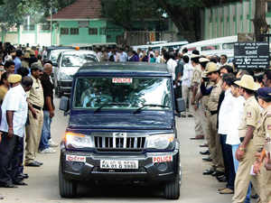 6 arrested from across Karnataka by NIA at City Civil court in Bengaluru.