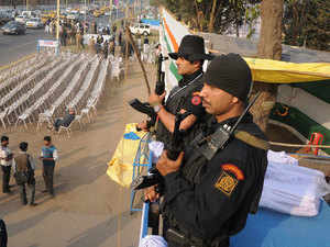 Around 93 extra police pickets would be there at several junctures of the city besides 13 Quick Response Teams (QRTs) of nearly 10,000 police personnel, he said.