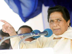 "Condemning Lok Sabha Speaker Sumitra Mahajan's statement on reservation, BSP chief Mayawati today said it reflects the discriminatory ""Manuvadi"" mindset of the upper castes."