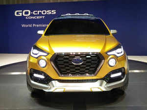 Datsun said it will be showcasing a few concepts and variants of its existing models including the Datsun Go-cross Concept, making its debut.