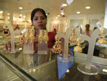 Standard gold (99.5 purity) jumped by Rs 215 to end at Rs 26,445 per 10 grams from overnight closing level of Rs 26,230.