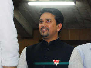 Anurag Thakur has shot off an e-mail to DDCA, enquiring whether they can host the T20 International between India and Sri Lanka at the Feroz Shah Kotla ground.