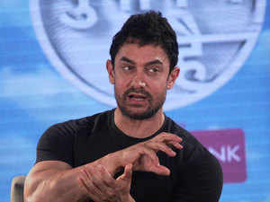 """Bollywood actor Aamir Khan, whose """"leaving India"""" comments linked to the """"intolerance"""" debate had kicked up a huge controversy, today said he never meant that he wanted to leave the country or that India was intolerant."""