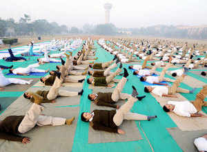 (Representative picture) The growing popularity of Yoga has prompted general insurers such as ICICI Lombard, Bajaj Allianz and Royal Sundaram to incorporate it in their wellness and preventive healthcare benefit packages.