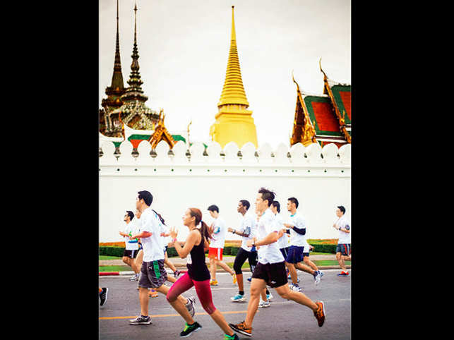 Swing by iconic palaces and structures as you participate in the many marathons taking place in 2016.