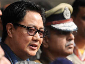"""Union Minister of State for Home Kiren Rijiju said the Centre has taken """"cognisance"""" of the said reports on the purported confession."""