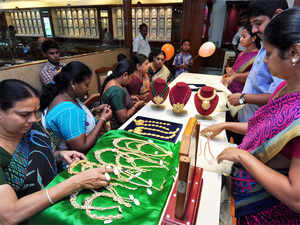 Kalyan Jewellers on Wednesday announced that it will hit the 100 showroom mark by the end of this financial year by adding 14 new showrooms, with 7 in India.