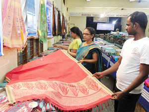 The country's overall exports of textiles and clothing may stand at $40 billion in 2015-16, similar to last year's level, a senior official said here.
