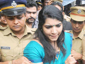 Saritha Nair alleged that the Chief Minister Oommen Chandy had accepted a bribe of Rs 1.90 crore from her.
