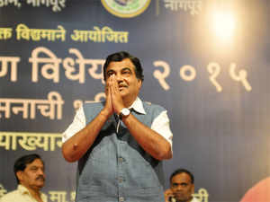 The government was developing water ways to ease the traffic on road, Union Transport Minister Nitin Gadkari said.
