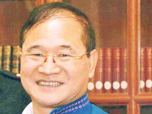 Hitting back at Congress over the political crisis in Arunachal Pradesh, BJP said the impasse was caused by its internal crisis and dismissed its criticism of the Modi government for imposing President's rule as an attempt to deflect blame.