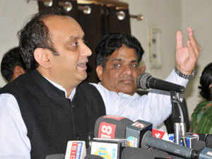 """BJP's Sudhanshu Trivedi defended the imposition of President's rule in the two states, insisting """"one cannot leave border states in a state of anarchy and chaos."""""""
