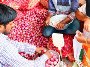 The maximum wholesale price of onion at Maharashtra's Lasalgaon market declined from Rs 21/kg in November to Rs 12/kg in January.