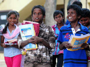 The overall literacy rate in the country may have gone up to 74.4%, but the drop in the illiteracy rate has not matched the increase in population.