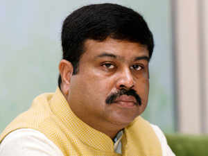 : The Jagatsinghpur district administration has detained two publicity vans of Indian Oil Corporation Ltd (IOCL) on charge of using the picture of Union Minister Dharmendra Pradhan with that of Prime Minister Narendra Modi.