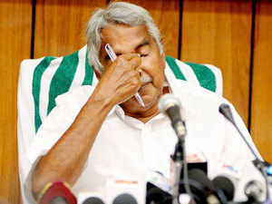 "BJP today demanded immediate resignation of Kerala CM Oommen Chandy saying he has no ""locus standi"" to be in his chair following state vigilance court's order that an FIR be registered against him in the solar scam."