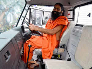 Over two dozen people were injured today when police resorted to lathicharge and fired in the air to disperse an angry mob which was protesting against the management of Patanjali Food Park in connection with the death of an employee on duty.