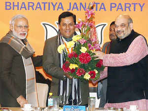 The BJP parliamentary board made the decision in an hour-long meeting attended among others by PM Narendra Modi, Amit Shah, its GS JP Nadda said.