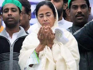 """West Bengal Chief Minister Mamata Banerjee today alleged that certain political parties were trying to portray the violence in Malda district as communal and termed the incident as a """"criminal"""" one."""
