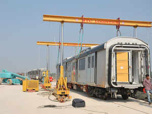 This is the first shipment of the planned 450 coaches that will be exported to Australia over two-and-a-half year period.