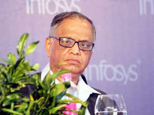 """Murthy said """"for Modi government's flagship programme to succeed, the country has to invent and discover locally""""."""