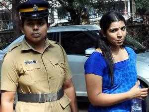 Saritha, whose startling revelations about the scam before the Commission have rocked Kerala.