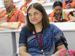In the midst of women demanding access to Shani Shingnapur temple. Maneka Gandhi said the matter should be left to the society to decide.