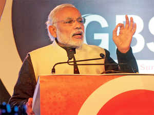 Prime Minister Narendra Modi spelt out his elaborate vision for a gung-ho India at The Economic Times Global Business Summit on Friday.