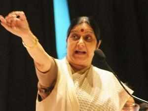 Sushma Swaraj pitched for a separate market for women entrepreneurs to enhance their incomes and advised them to scale up production of commodities they are selling.