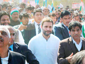 """BJP attacked Congress Vice President Rahul Gandhi for using students as a """"political tool"""" after he joined them at HCU for a day-long fast."""